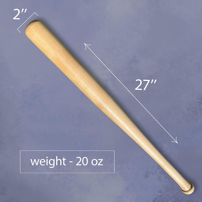 Buy Kotionok Baseball Bat 27 Inch Wooden Bat Wood Baseball Bat Self Defense Bat Softball Baseball Bats Online In Indonesia B08v85k5vj
