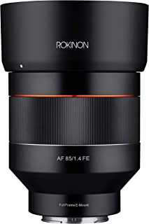 Rokinon 85 mm F1.4 Auto Focus Weather Sealed Lens para Sony E-Mount