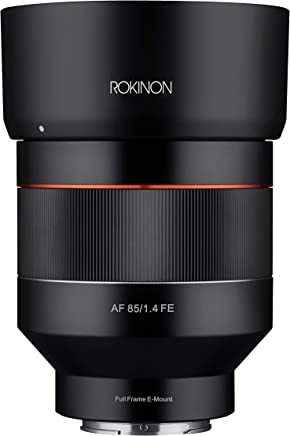 $699 Get ROKINON IO85AF-E 85mm F1.4 Auto Focus Weather Sealed Lens for Sony E-Mount