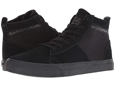 Supra Stacks Mid (Black/Black) Men