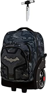 Batman Fear - Mochila Trolley Travel GTX, Negro