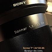 Sony Sal135f18z Tele Objektiv Schwarz Kamera