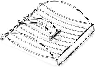 DecorRack Chrome Paper Napkin Holder with Weighted Metal Arm, Flat Napkin Dispenser, Modern Serviette Holder Perfect for O...