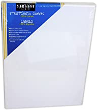Sargent Art 90-2022 18x30-Inch Stretched Canvas, 100% Cotton Double Primed