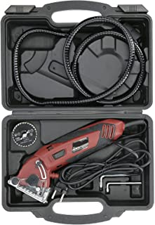 Walfront Cirkelsåg Mini Elektrisk såg Multifunktionell skärmaskin Handhållen träbearbetningsverktyg EU-kontakt AC230-240V