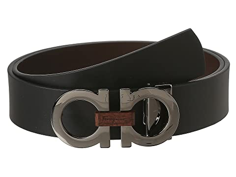 Salvatore Ferragamo Adjustable/Reversible Belt at Luxury