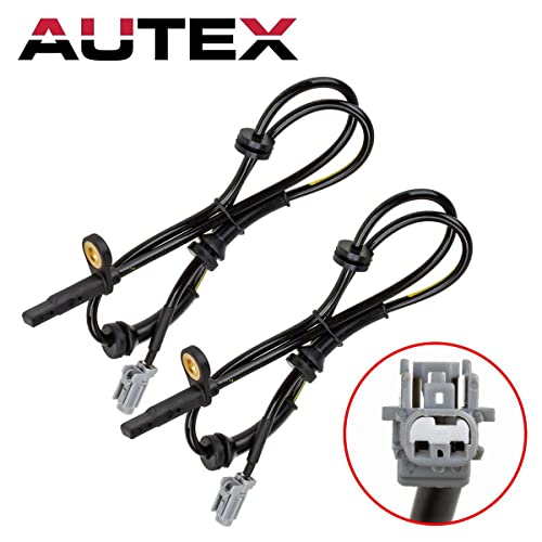 AUTEX 2PCS ABS Wheel Speed Sensor Front Left & Right ALS1658 compatible with 2008-2010