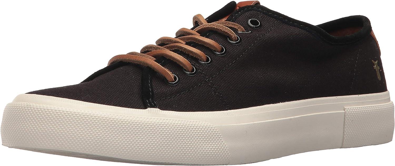 Frye Men's Ludlow Low Tennis shoes, Black, 11.5M