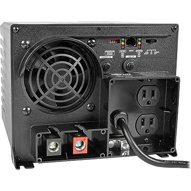 Tripp Lite PowerVerter APS750 - DC to AC power inverter + battery charger - 12 V - 750 Watt - 2 output connector(s)