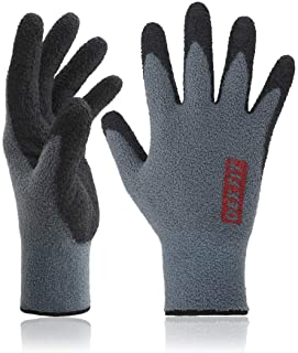 DEX FIT Warm Fleece Work Gloves NR450, Comfort Spandex Stretch Fit, Power Grip,..