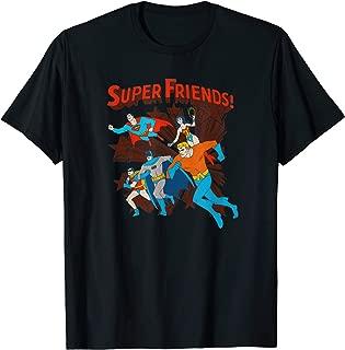 Justice League Super Friends Running T-Shirt