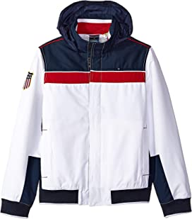 9710dce3 Regatta Jacket with Magnetic Buttons (Little Kids/Big Kids). Tommy Hilfiger  Adaptive