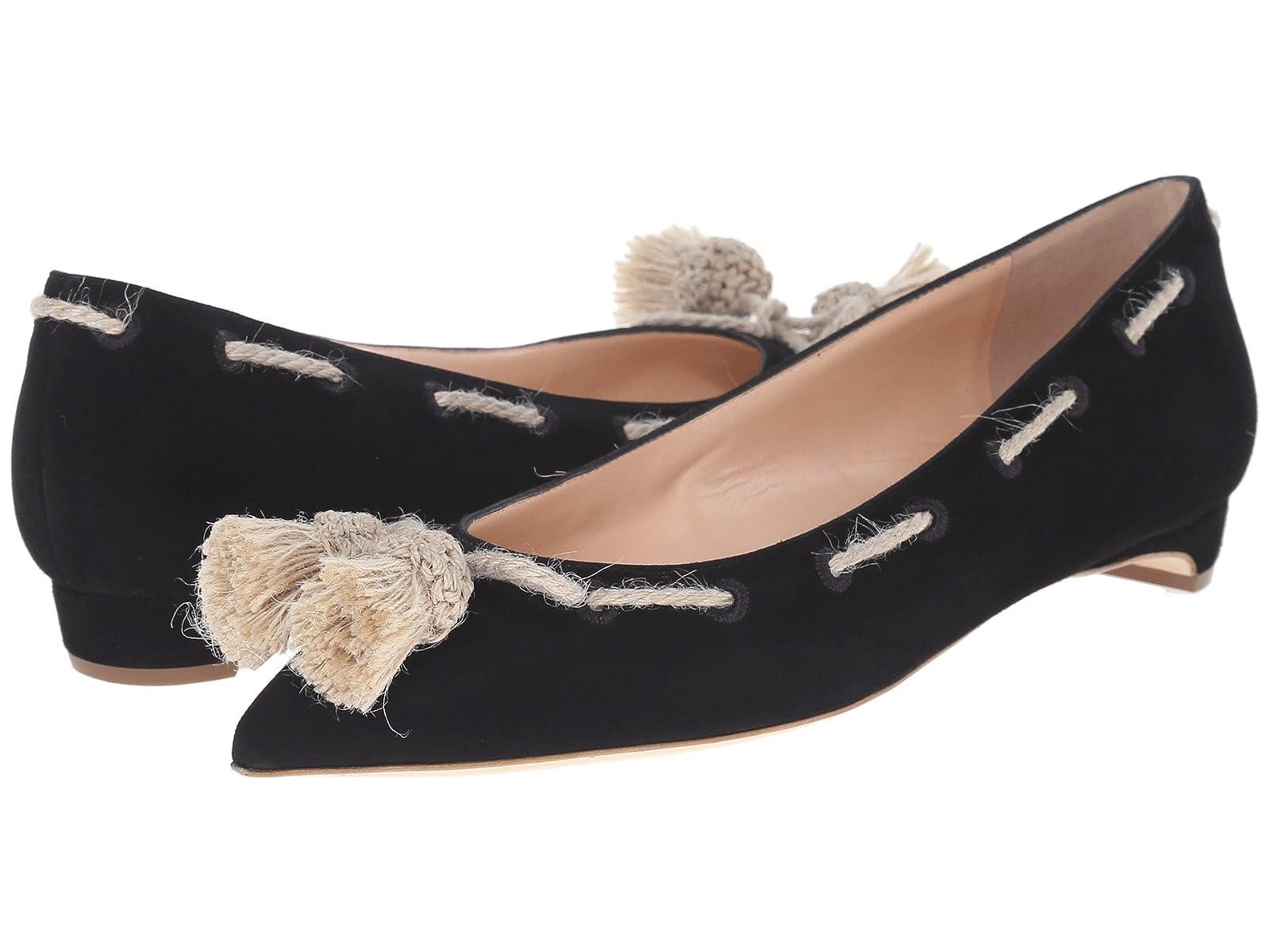 Rupert Sanderson Jamal Suede Flats with TasselsCheap and distinctive eye-catching shoes