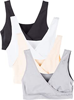 Caramel Cantina 4 Pack Nursing Maternity Sleep Bra
