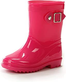 ef2a5b39904d Amazon.com  Pink - Rain Boots   Outdoor  Clothing