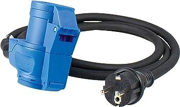 as - Schwabe – CEE-adapterkabel Caravan – 230 V/16 A – CEE-stekker en Geaarde Koppeling – 3-polige 1,5 m Kabel voor Euro S...