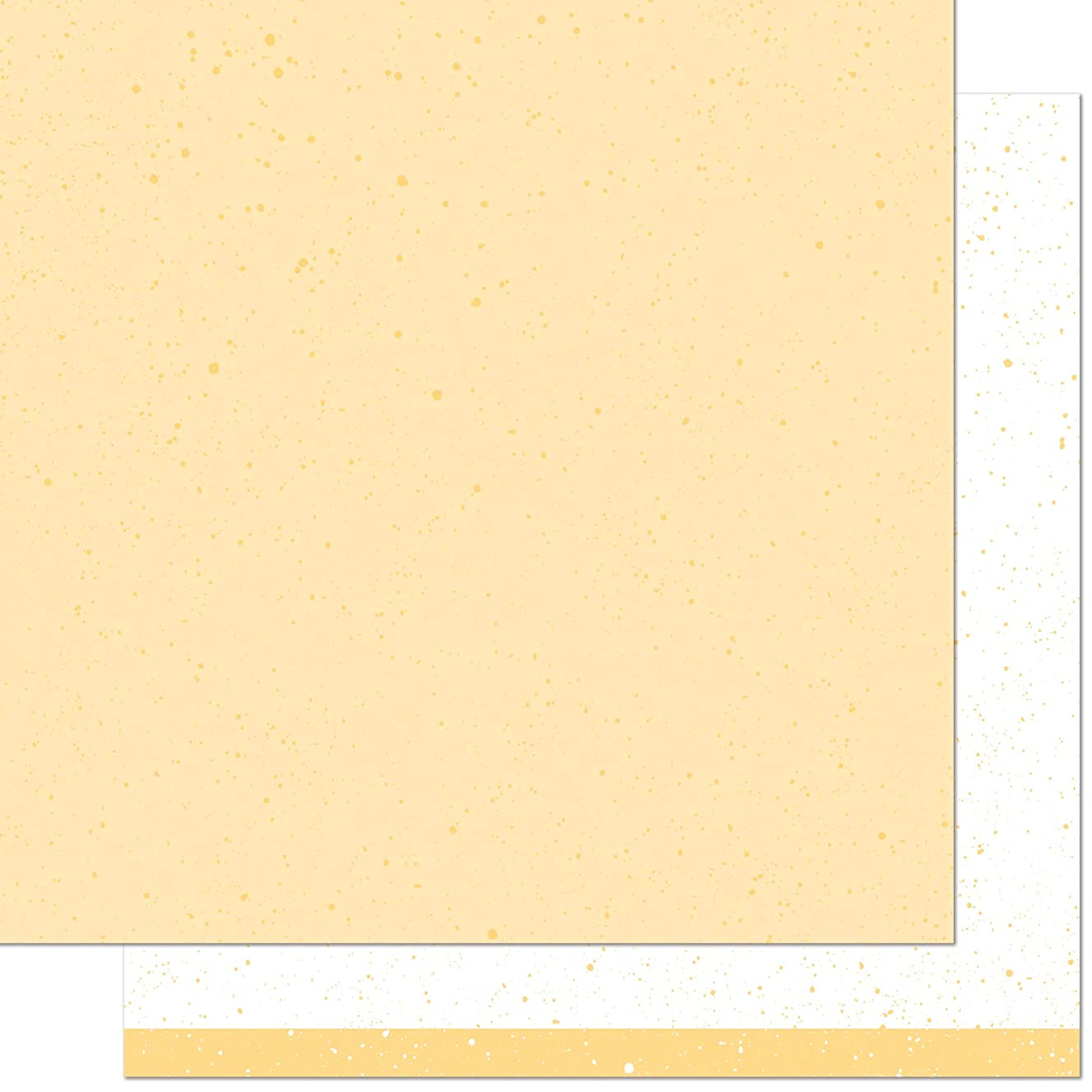 Lawn Fawn LF1863 Ripe Banana 12x12 Patterned Paper (Pack of 12)