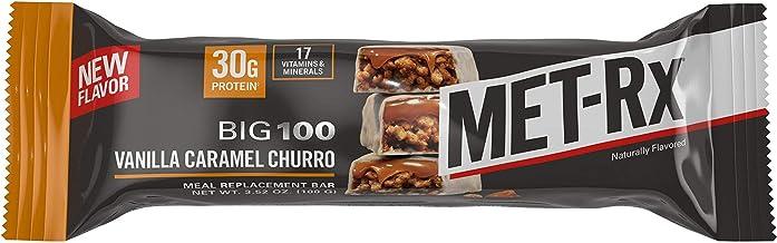 Met-Rx Big 100 Colossal Vanilla Caramel Churro Bar 9 Bars Estimated Price : £ 45,95