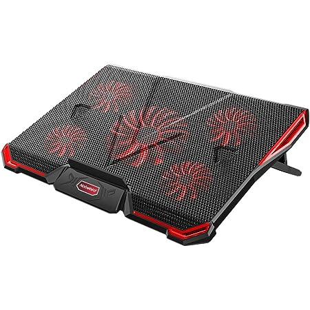 d/étection automatique de la temp/érature r/églable 400*348*50mm GT300 IETS Ventilateur pour ordinateur portable avec affichage de la temp/érature refroidissement rapide