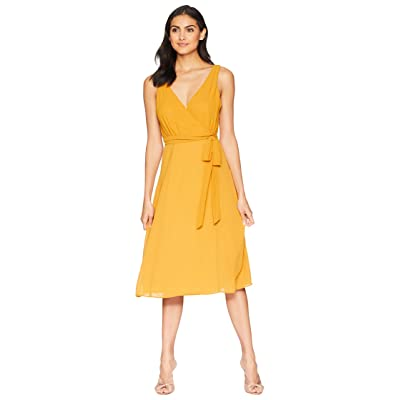 Show Me Your Mumu Cynthia Crossover Dress (Harvest Moon Chiffon) Women