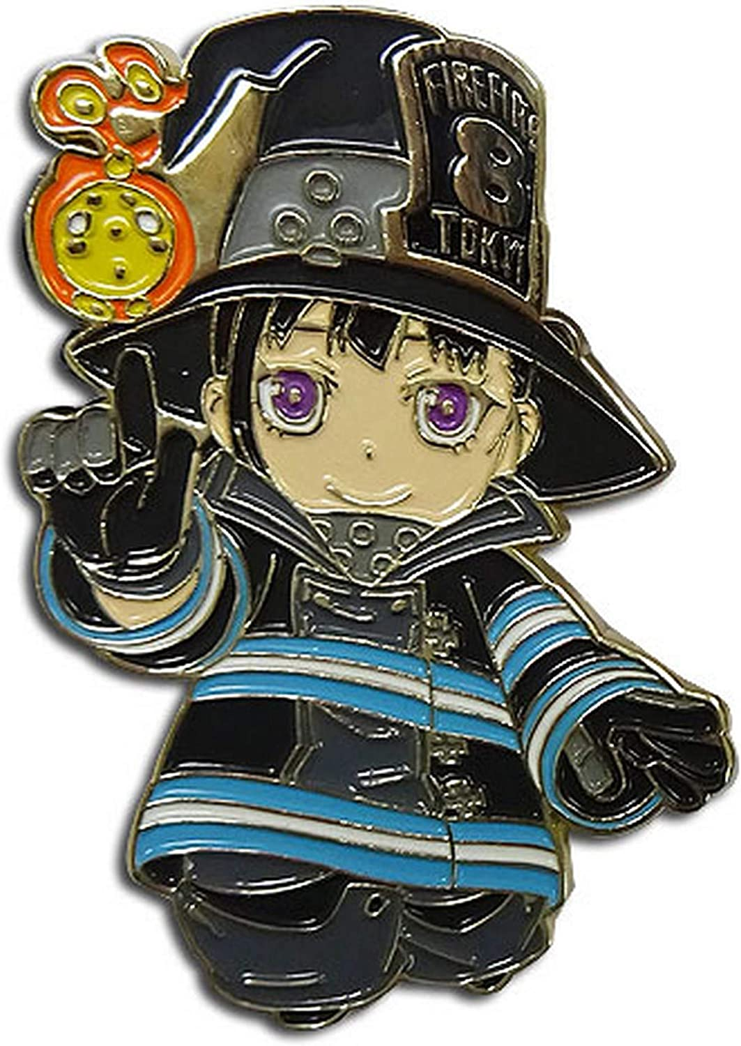 Great Eastern Entertainment Fire Force- SD Maki Pin