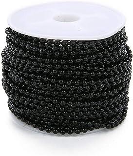 GLJYG 24MM chaîne de Perles à Billes Longues chaînes de Perles à Billes de Fer Ventilateur de Plafond Tirer la chaîne Port...