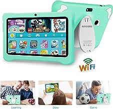 Tablet para Niños con WiFi, Android 9.0 Google Certificación GMS, 7 Pulgadas 3GB RAM +32GB ROM/128GB,Entertainment Educativo Tablet Infantil Quad Core Doble Cámara Tablet para ni?os /Bluetooth