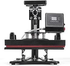 Guellin Máquina de Prensa de Calor Prensa de Calor 30 X 23 cm Máquina de Transferencia de Calor para Camiseta/Taza/Gorra (H230B)
