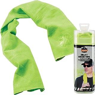 Ergodyne Chill-Its 6602 Evaporative Cooling Towel, HI-Vis Lime