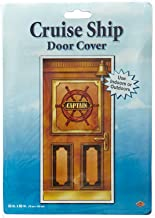 Cruise Ship Door Cover Party Accessory (1 count) (1/Pkg)