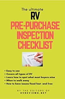 The Ultimate RV Pre-Purchase Inspection Checklist : How To Inspect Your New RV