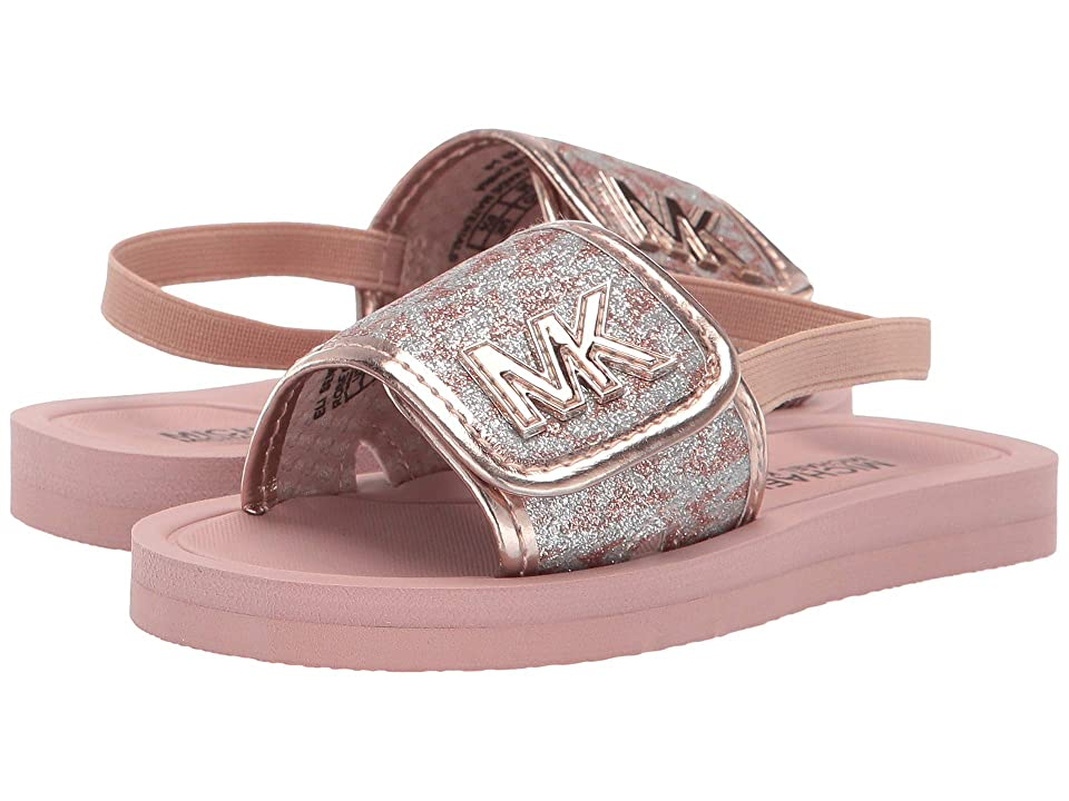 8ce6c1aa2b85 MICHAEL Michael Kors Kids Eli Seneca-T (Toddler) (Rose Gold) Girl s Shoes