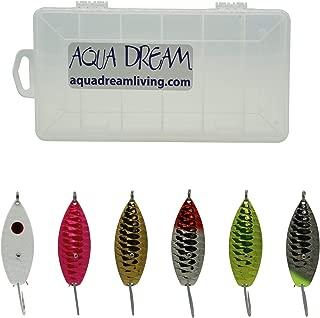 Aqua Dream ADL Weedless Spoon Kit 6pc