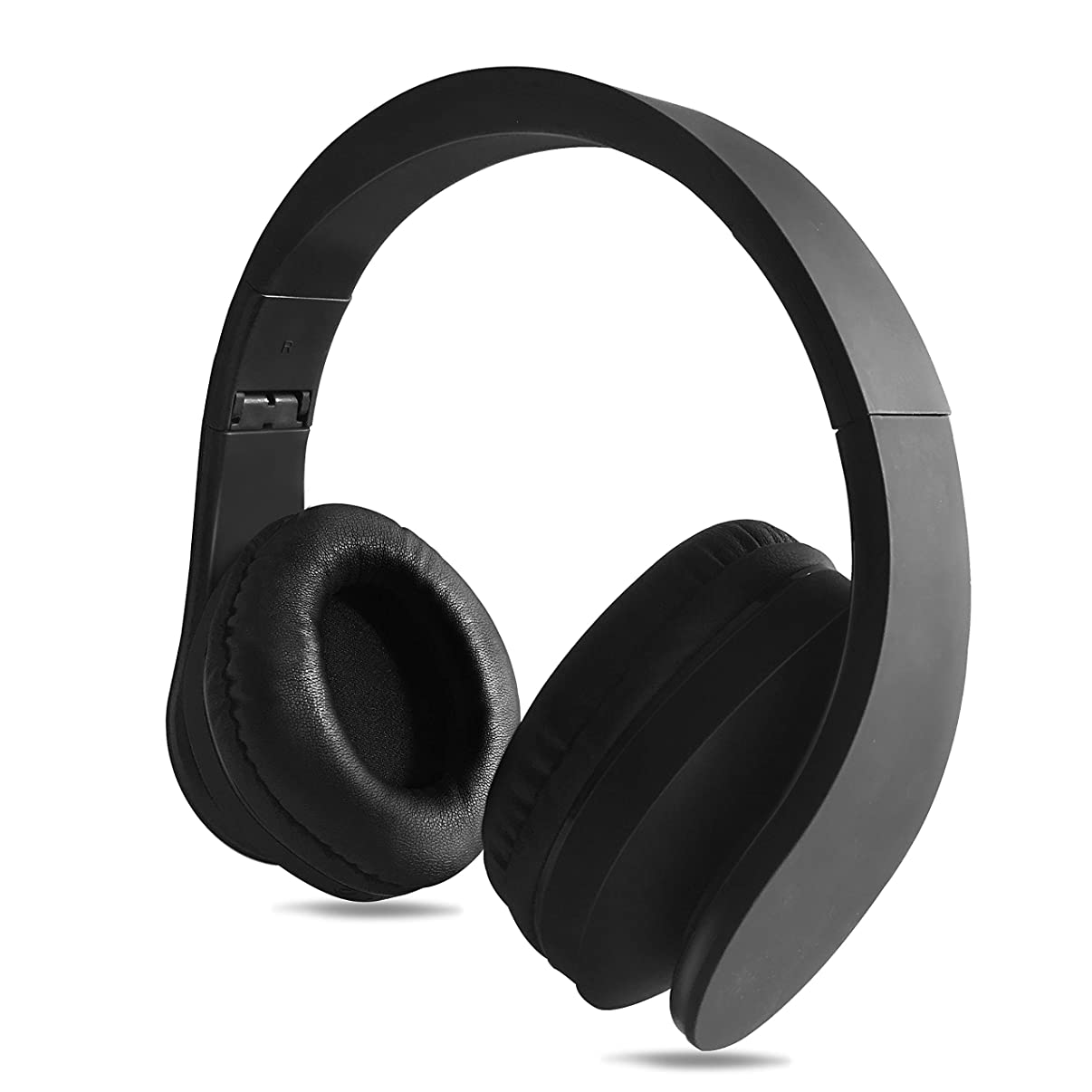 FX-Viktaria Dual Mode Wireless Headset, On Ear Headphone Foldable,Stereo Headset Lightweight Design, Soft, Compatible with iPods, iPhones, iPads, Smartphones, Tablets, PC and Laptops-Black