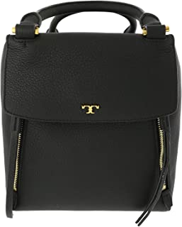 Tory Burch Women's Half-Moon Satchel Leather Top-Handle Bag Tote