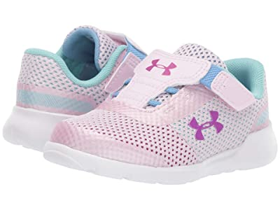 Under Armour Kids UA Inf Surge Running (Toddler) (Arctic Pink/Arctic Pink/Strobe) Girls Shoes