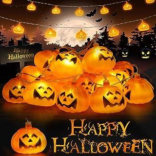 3M 20LEDs D/écoration de Halloween Guirlande Lumineuse Herefun Halloween Guirlande Lumineuse Halloween D/écoration de F/ête Pumpkin Guirlande Halloween D/écorations