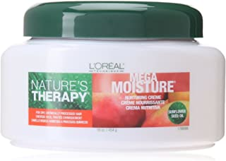 L'Oreal Natures Therapy Mega Moisture Nurturing Creme, 16 oz (4 Pack)