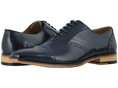 Stacy Adams Talford Cap Toe Oxford (Blue) Men