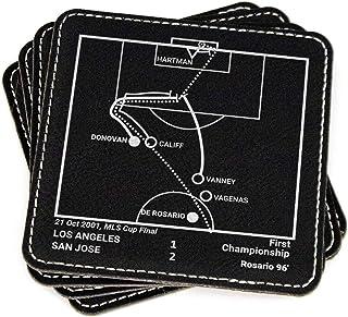 Greatest San Jose Earthquakes Plays: Leatherette Coasters (Set of 4)