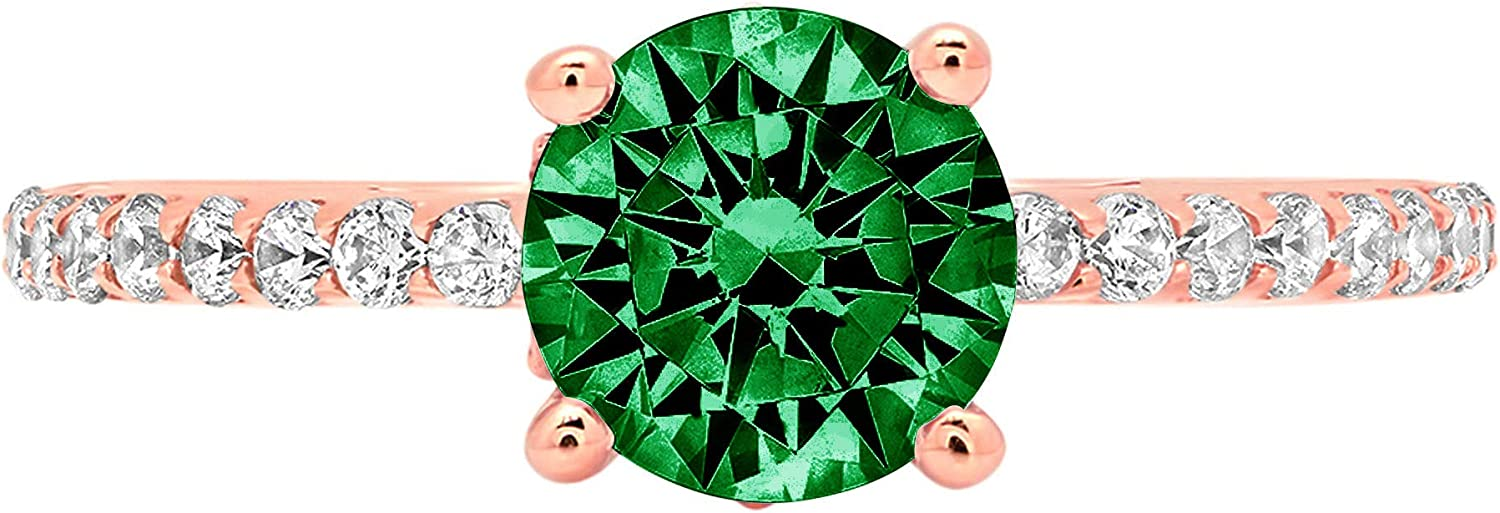 1.51ct Brilliant Round Cut Solitaire Animer Max 49% OFF and price revision Flawless Simulate cathedral