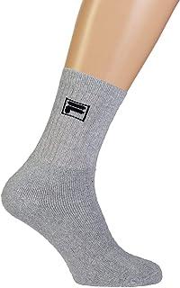 Fila, F9000, Calcetín unisex, Grey, 35/38