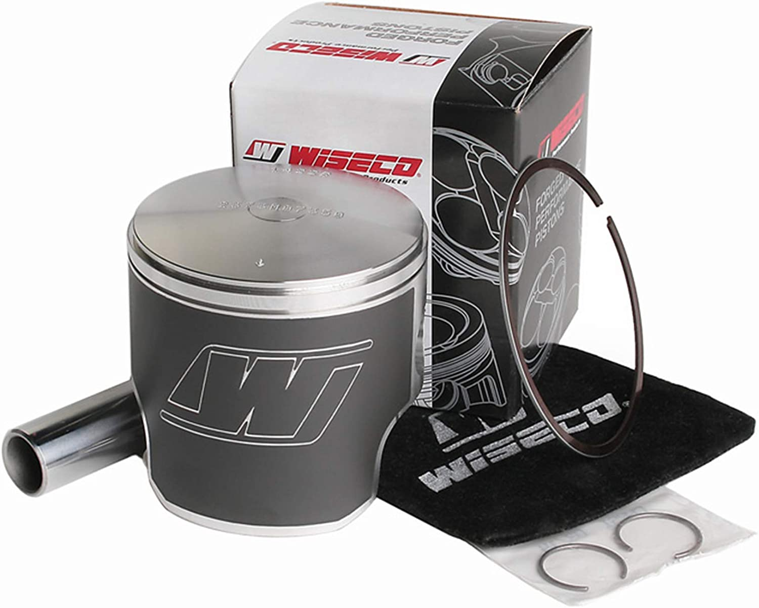 Piston Kit - 1.00mm Oversize Popular product to Ski-Doo National products Alpine Fits 1990 73.00mm