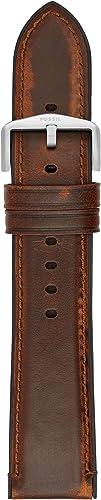Bracelet en silicone Fossil 22mm
