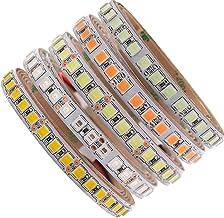 XUNATA Ledstrip, 12 V, lichtblauw, upgrade 5050 5 m, 600 LED's, zelfklevend