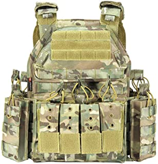 MASII Outdoor Tactical Vest Multi-Purpose Field Tactical Vest Sports Equipment Tactical Equipment,UpgradedCP