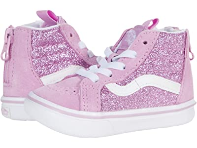 Vans Kids ComfyCush SK8-Hi Zip (Infant/Toddler) ( Girl