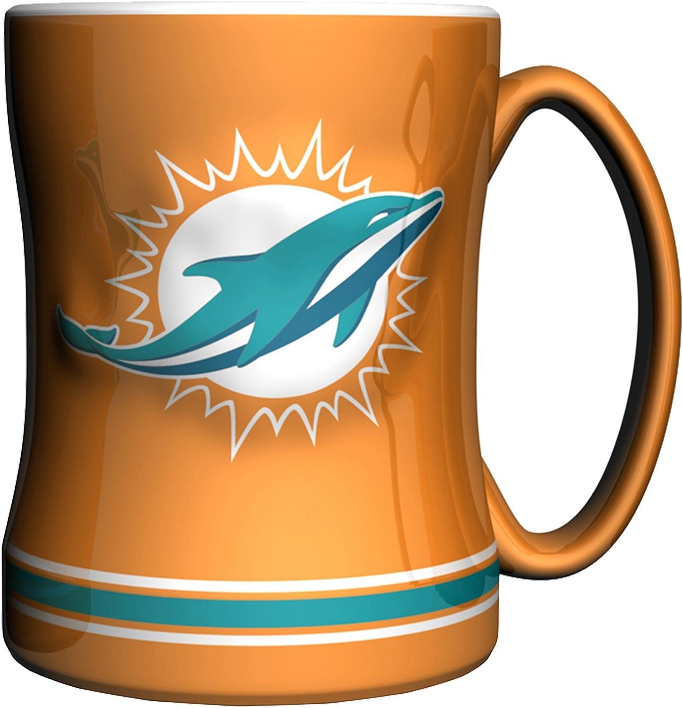 NFL Sculpted Relief Mug, 14ounce