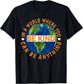 Unity Day Orange Shirt In A World Where You Can Be Anything T-Shirt