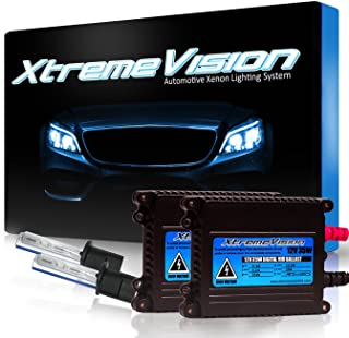 XtremeVision 35W Xenon HID Lights with Premium Slim Ballast - H1 8000K - 8K Medium Blue - 2 Year Warranty